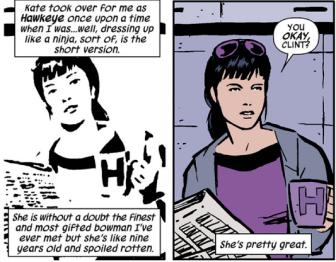 Hawkeye - Kate