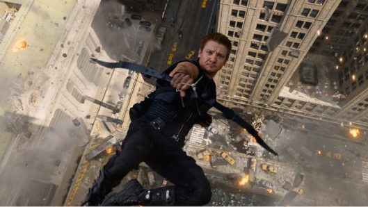 Hawkeye - Movie Falling