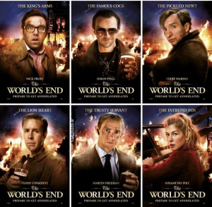 World's End-cast