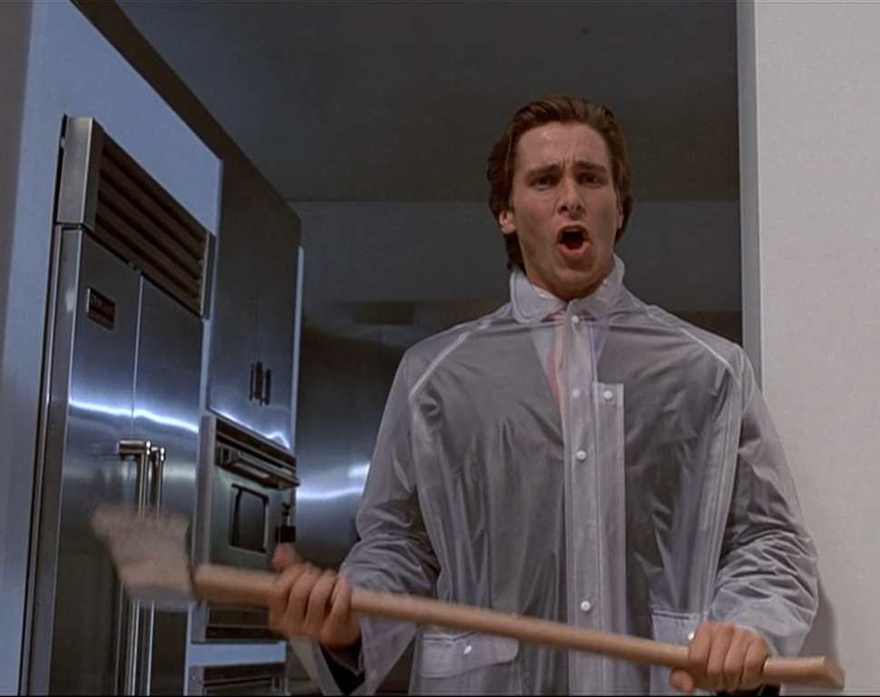 american psycho film review Film vs book #6: american psycho this week, american psycho, written  but a  review of whitney houston's work can seem very oblique.
