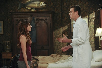 fighting lily and marshall
