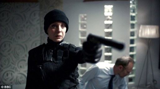 Seen here: Mary Watson, in case it hasn't sunk in for you.