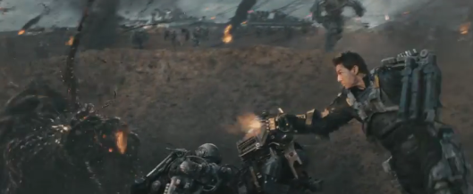 Edge of Tomorrow - run and gun