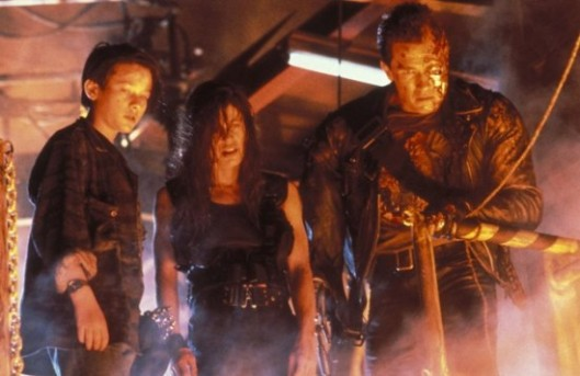 """""""You mean we DIDN'T have to stand around and wait for the T-1000 to reform before we started running? Damn."""""""