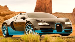 Out here in the desert, everyone drives Bugatti Veyrons.