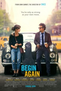 Begin Again images courtesy of The Weinstein Company
