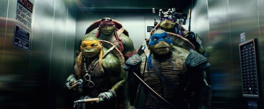 Michelangelo:  You guys ever wonder why Master Splinter made us all practice only one weapon?  Wouldn't we all be more effective using all weapons?  And besides that, how would my nunchuks ever beat your katanas, Leo?  You guys ever wonder if Master Splinter secretly hates me?