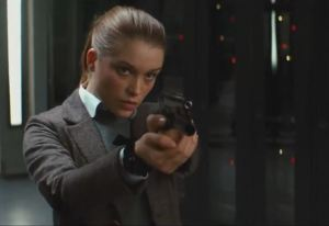 Women can't be super-spies.  They'd distract the other men super-spies!