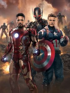 Cap: Is there something behind us? Some gathering darkness? Iron Man: Oh, I thought you were going to say something about why we keep taking our masks off.