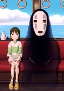 Spirited Away, aka Riding in Trains with Ghosts, aka the most successful movie in Japanese history.