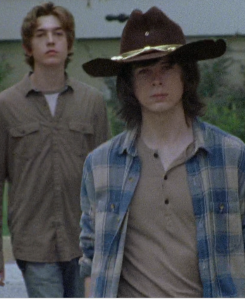 "Carl's just walking around, twiddling his thumbs, going ""do-do-do-do-doo, do-do-do-do-do-do-do..."""